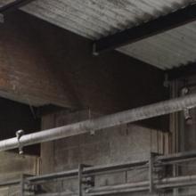 strop potravinářské výroby před ošetřením